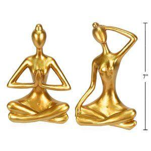 WT Set of 2 Yoga Figures